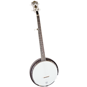 "Flint Hill Traditional Resonator ""Zombie Killer"" Banjo"