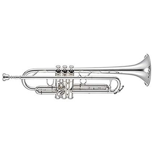 Jupiter JTR 1100s Silver Plated Yellow Brass Trumpet