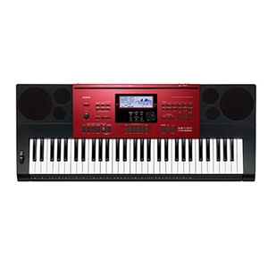 Casio CTK-6250 Keyboard  - Red
