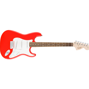 SQUIRE AFFINITY SERIES STRAT - RACE RED