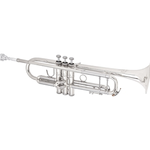 B&S Challenger 1 Series Professional Silver Trumpet