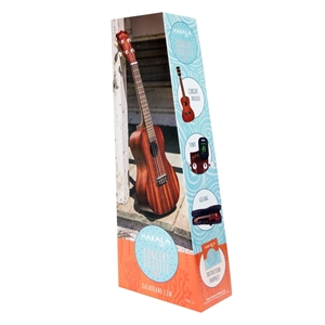Makala Concert Ukulele Pack With Uke Bag Tuner