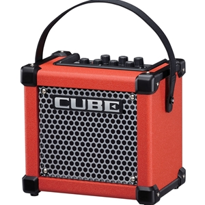 Roland Micro Cube Battery Powered Guitar Amp, Red