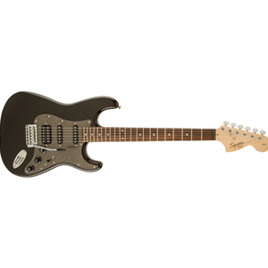 SQUIER BY FENDER AFFINITY SERIES STRATOCASTER HSS BLACK METALLIC