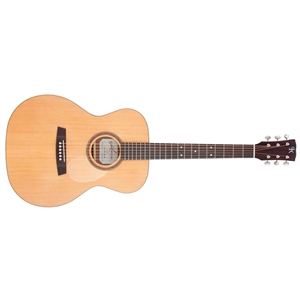 Kremona M15 Orchestral Model Acoustic Guitar Solid Spruce Top Mahogany Back and Sides Deluxe Gig Bag