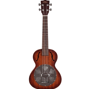 Kala Tenor Resonator Ukulele - Chrome