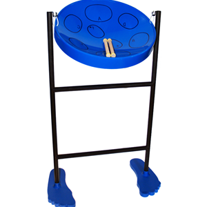 Panyard Jumbie Jam Pan Drum - Blue - Key Of G