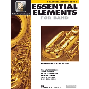 Essential Elements: Book 1 - Bari Sax - Book W/ Eei
