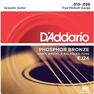 D'addario Phosphor Bronze True Medium Strings (.013-.056)