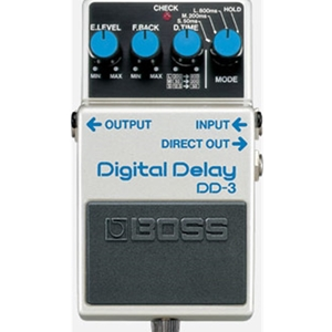 Boss Dd3 Digital Delay Compact Pedal