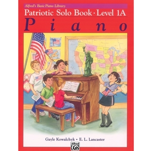 Alfred Basic Piano Patriotic Solo Book Level 1a