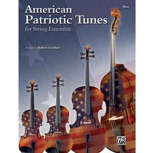 American Patriotic Tunes For String Ensemble - Bass