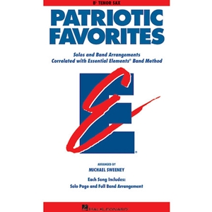 Patriotic Favorites - Bb Tenor Saxophone