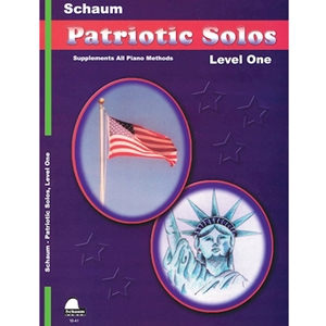 Schaum Patriotic Solos Level 1