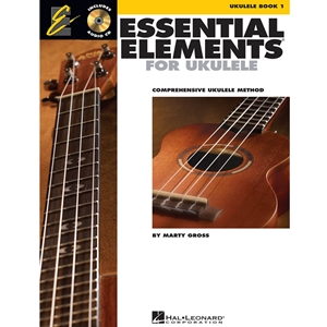 Essential Elements Ukulele Method - Book 1 - W/cd - Ukulele