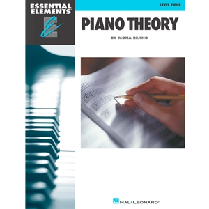 Essential Elements: Piano Theory - Level 3