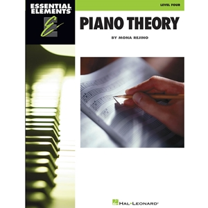 Essential Elements: Piano Theory - Level 4