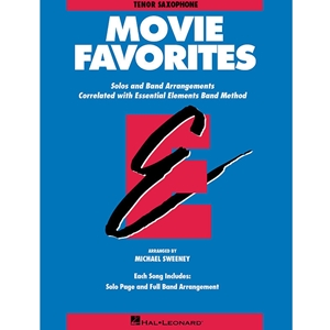 MOVIE FAVORITES (ESSENTIAL ELEMENTS) - TENOR SAXOPHONE