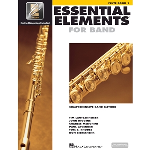 Essential Elements: Book 1 - Flute - Book W/ Eei