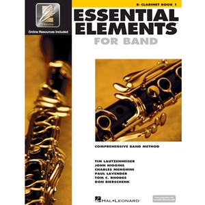 Essential Elements: Book 1 - Clarinet - Book W/ Eei