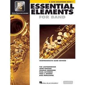 Essential Elements: Book 1 - Alto Sax