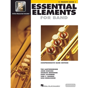 Essential Elements: Book 1 - Trumpet - Book W/ Eei