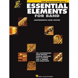 Essential Elements: Book 1 - Piano Accompaniment W/ Eei