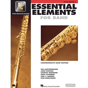 Essential Elements 2000: Book 2 - Flute - w/ EEi
