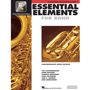 Essential Elements 2000: Book 2 - Bari Saxophone - w/ EEi