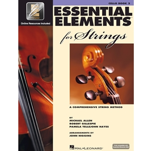 Essential Elements 2000 For Strings: Book 2 - Cello - Book W/ AUDIO ACCESS