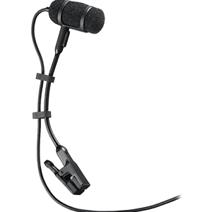 Audio Technica Pro 35 Cardioid Condensor Clip-on Microphone