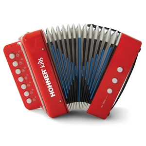 Hohner Kid's Accordion - Red