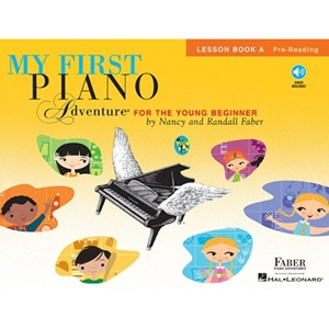 Faber My First Piano Adventure: Lesson Book A - W/cd