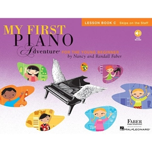 Faber: My First Piano Adventure - Lesson Book C With Cd