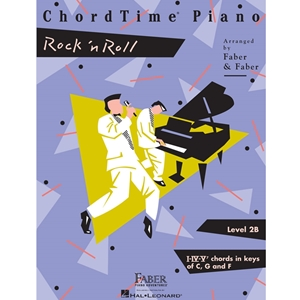 Faber - Chordtime Piano Rock N' Roll - Level 2b