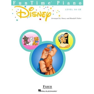 FABER:  FUNTIME - LEVEL 3A-3B - DISNEY -  PIANO