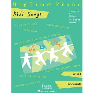 Faber: Big Time Piano - Kids Songs - Level 4