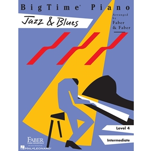 Faber: - Jazz & Blues - Level 4 - Bigtime - Piano
