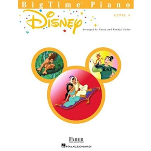 FABER:  BIGTIME - LEVEL 4 - DISNEY - PIANO