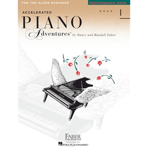Faber Piano Adventures For The Older Beginner: Book 1 - Performance
