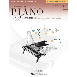 Faber Piano Adventures For The Older Beginner: Book 2 - Performance
