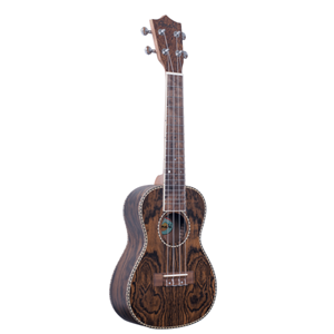 Amahi Classic Tenor Ukulele, All Bocote-Pickup & Tuner w/bag