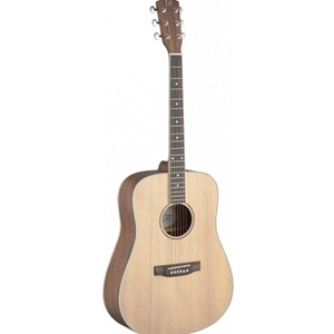 J.N. Guitars Asyla series Dreadnought Acoustic with Solid Spruce Top