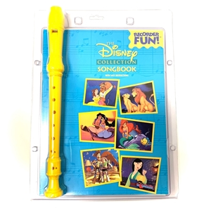 Disney Collection Songbook With Recorder and Easy Instructions