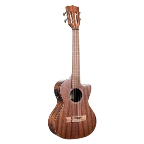 Kala All Solid Mahogany Tenor With Eq Cutaway