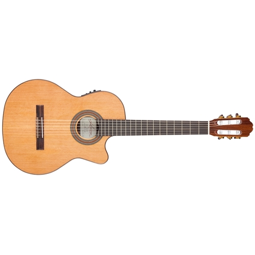Kremona Fiesta Soloist Classical Guitar - Solid Cedar Top, Indian Rosewood Back & Sides with Pickup