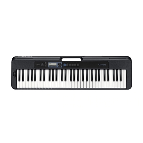 Casiotone Portable Keyboard Black with Touch Sensitivity