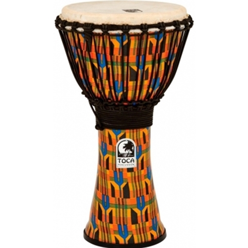 "Toca 10"" Freestyle Djembe - Kente"