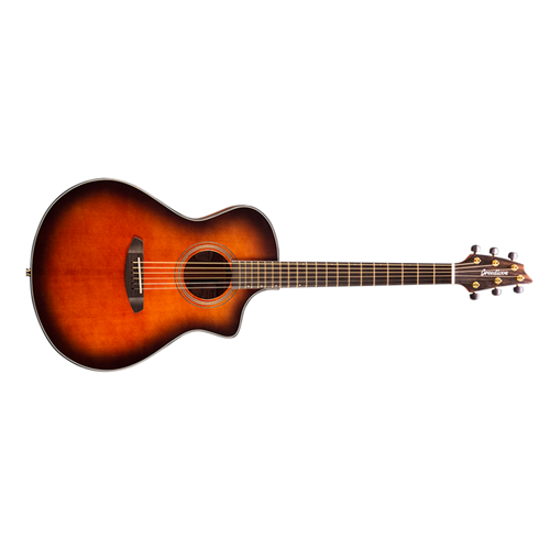Breedlove Organic Series Performer Concert Bourbon CE Torrefied European Spruce African Mahogany
