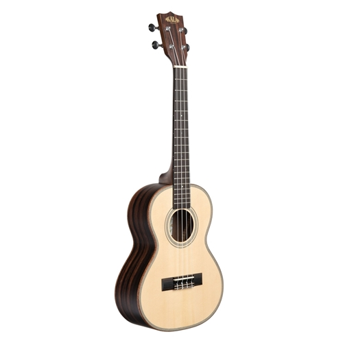 Kala Tenor Ukulele Satin/Solid Spruce/Striped Ebony